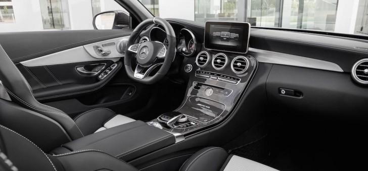 Mercedes C63 cab