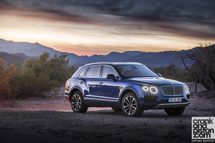 Bentley Bentayga global media drive, Palm Springs, USA. Jan 2016 Photo: James Lipman