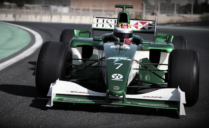 Dream Racing LLC Jaguar R1 Dubai Autodrome 01