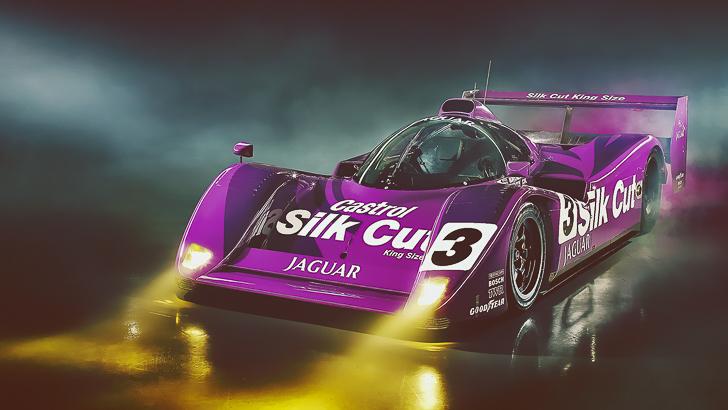 TOP 10 Greatest Group C Sports Cars Jaguar XJR-14-1