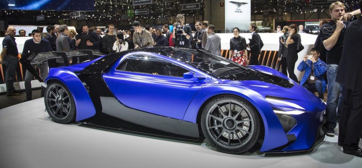 Techrules supercar