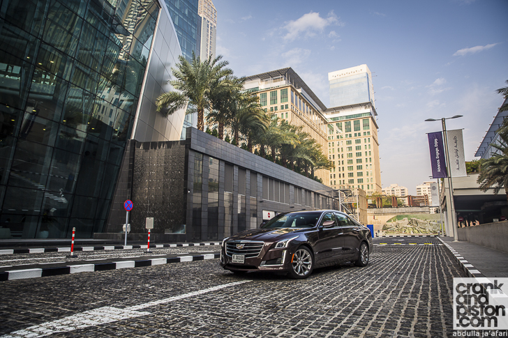 2016 Cadillac CTS. Management Fleet (March)-20
