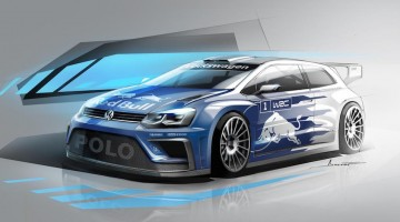 Volkswagen Polo WRC car