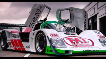 Porsche 962C Andrew Jordan Donington Park Goodwood 01