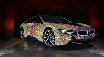 BMW i8 Futurism Edition. Garage Italia Customs-9