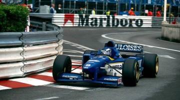 Top 10 Monaco GP moments Oliver Panis Ligier 1996