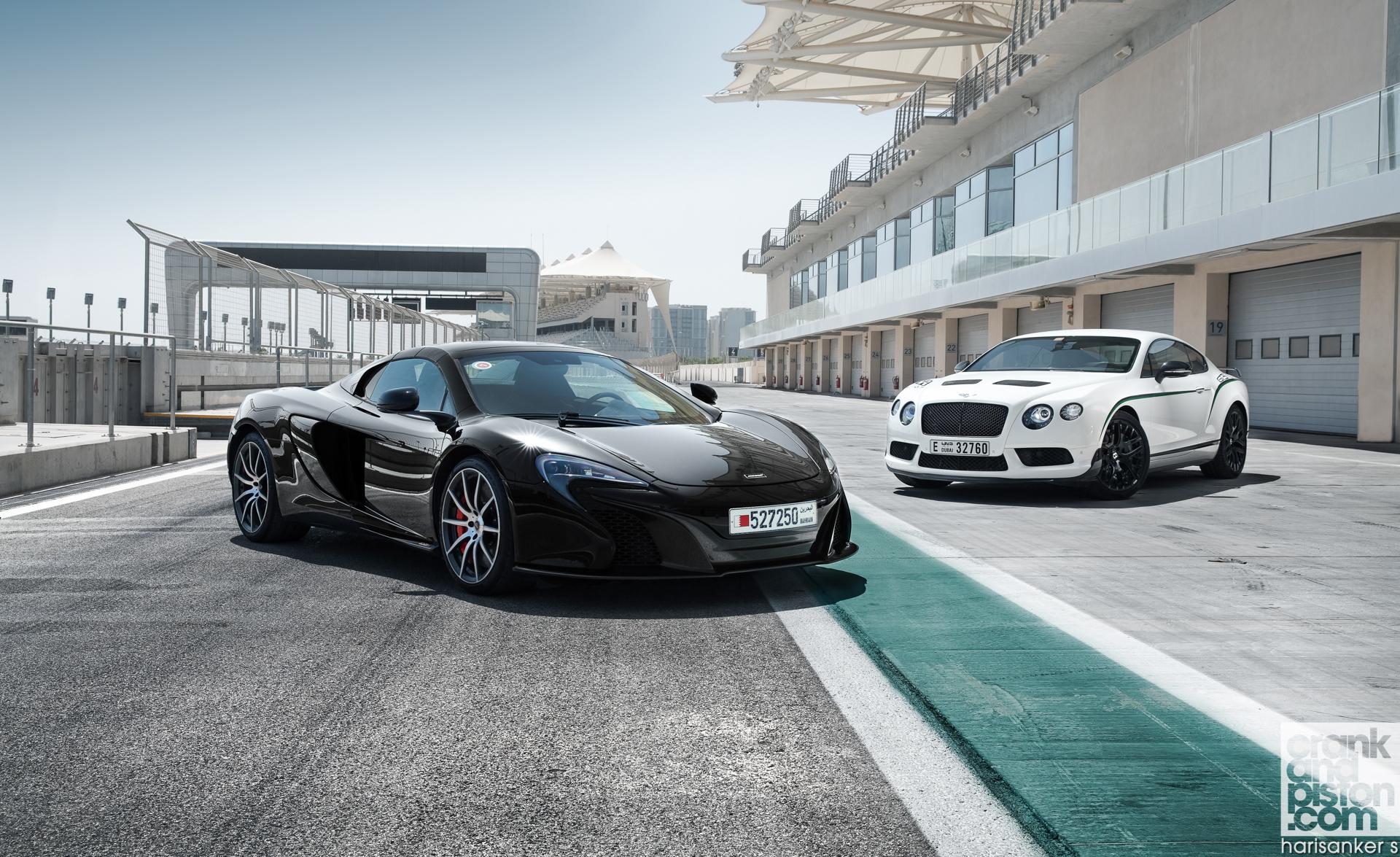 Bentley-Continental-GT3-R-vs-McLaren-650S-Spider-Wallpapers-1