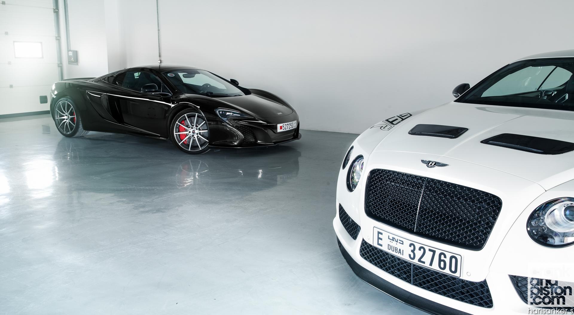 Bentley-Continental-GT3-R-vs-McLaren-650S-Spider-Wallpapers-4