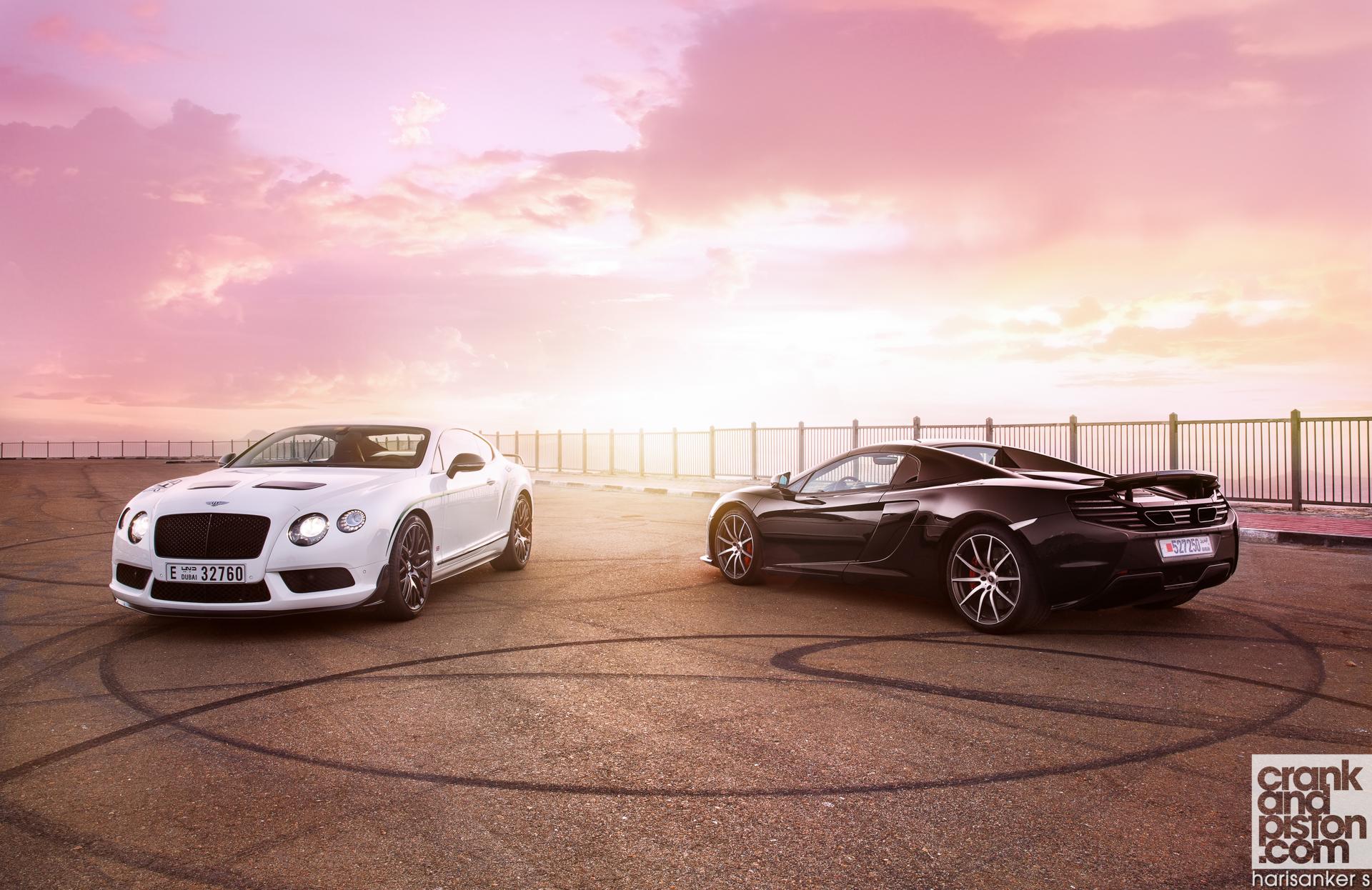 Bentley-Continental-GT3-R-vs-McLaren-650S-Spider-Wallpapers-8