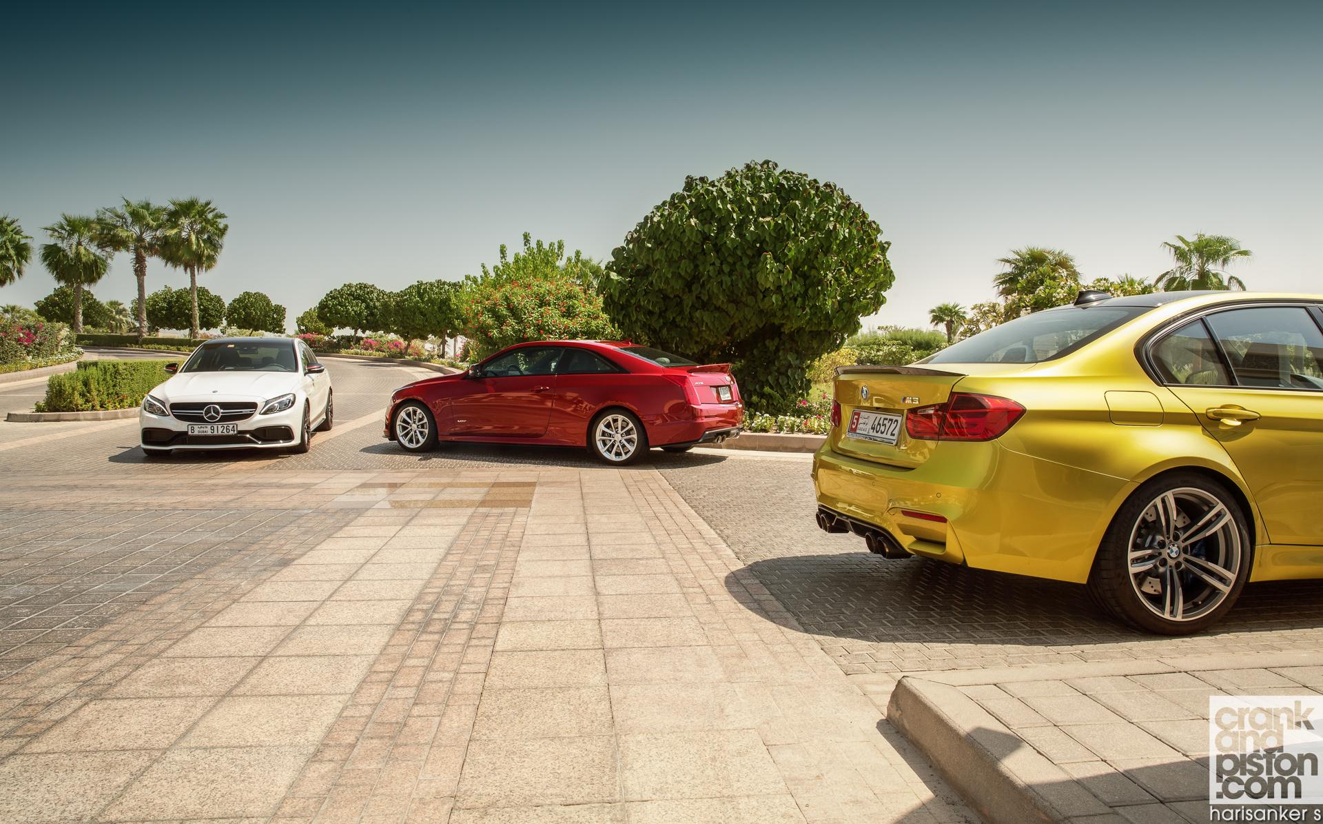 Cadillac ATS-V vs BMW M3 vs Mercedes-AMG C 63 S ...