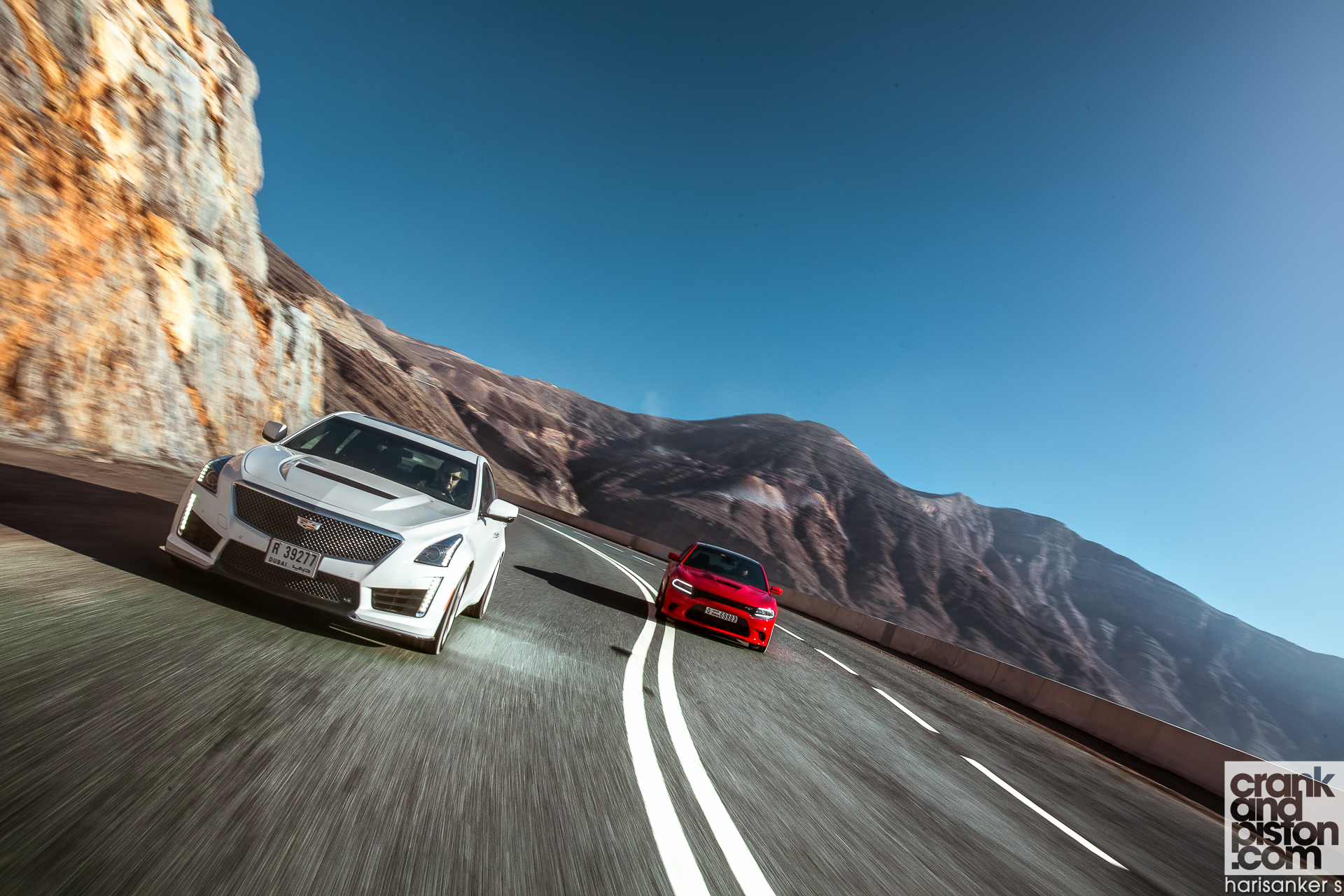 Cadillac CTS-V vs Dodge Charger SRT Hellcat. Set 1 ...