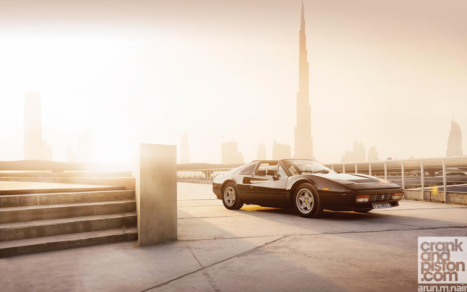 Ferrari 488 GTB meets Ferrari 328 GTS WALLPAPERS crankandpiston-12