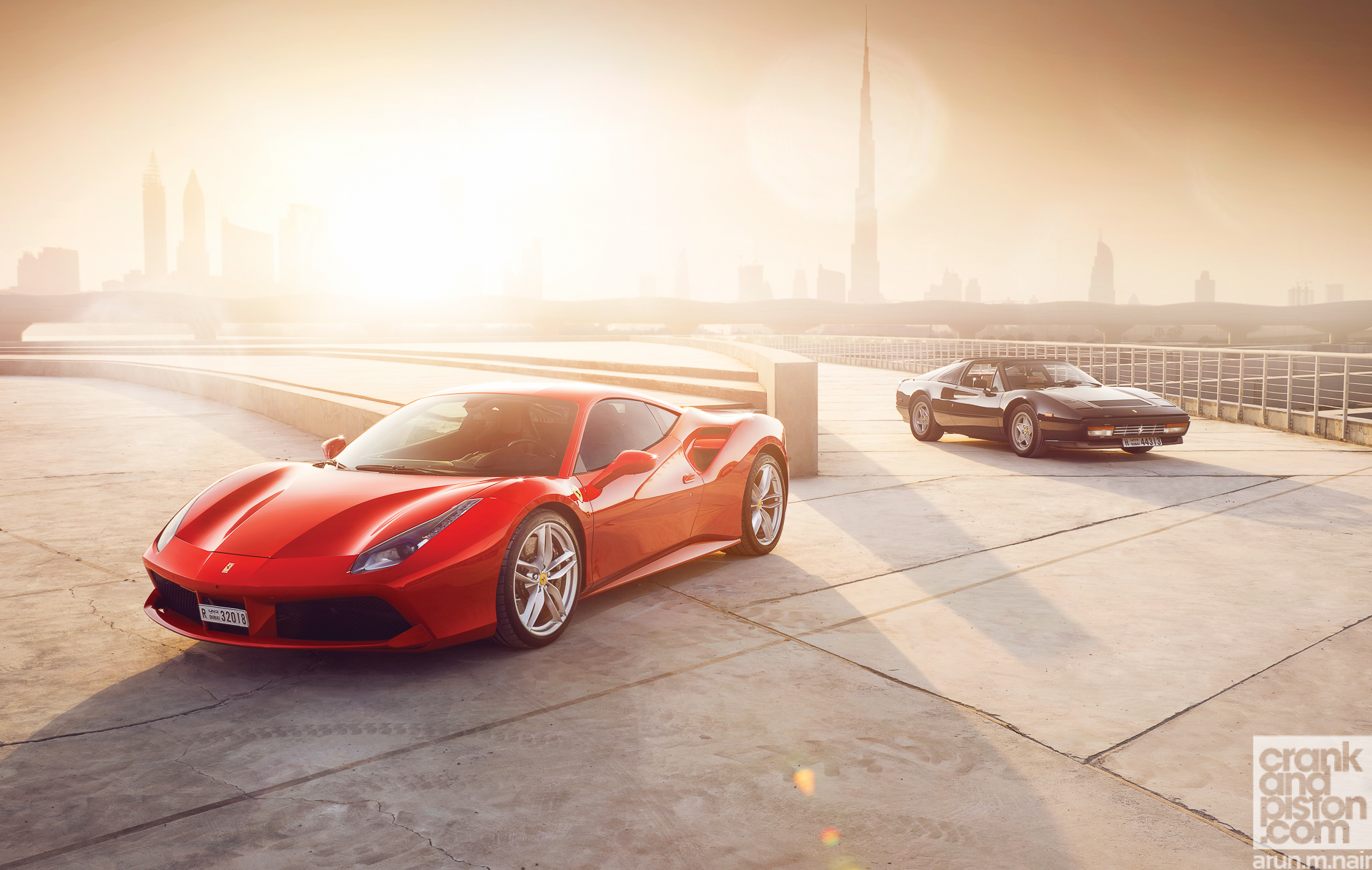 Ferrari 488 Gtb Meets Ferrari 328 Gts Wallpapers Crankandpiston 3