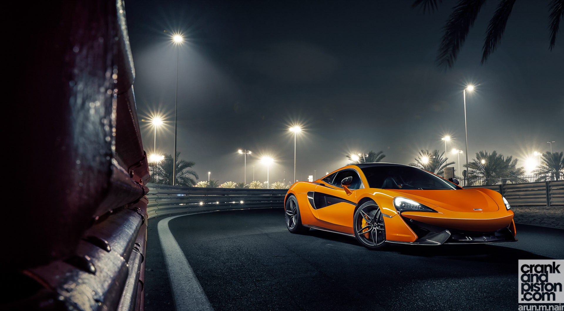 McLaren 570S. Set 2 - crankandpiston.com