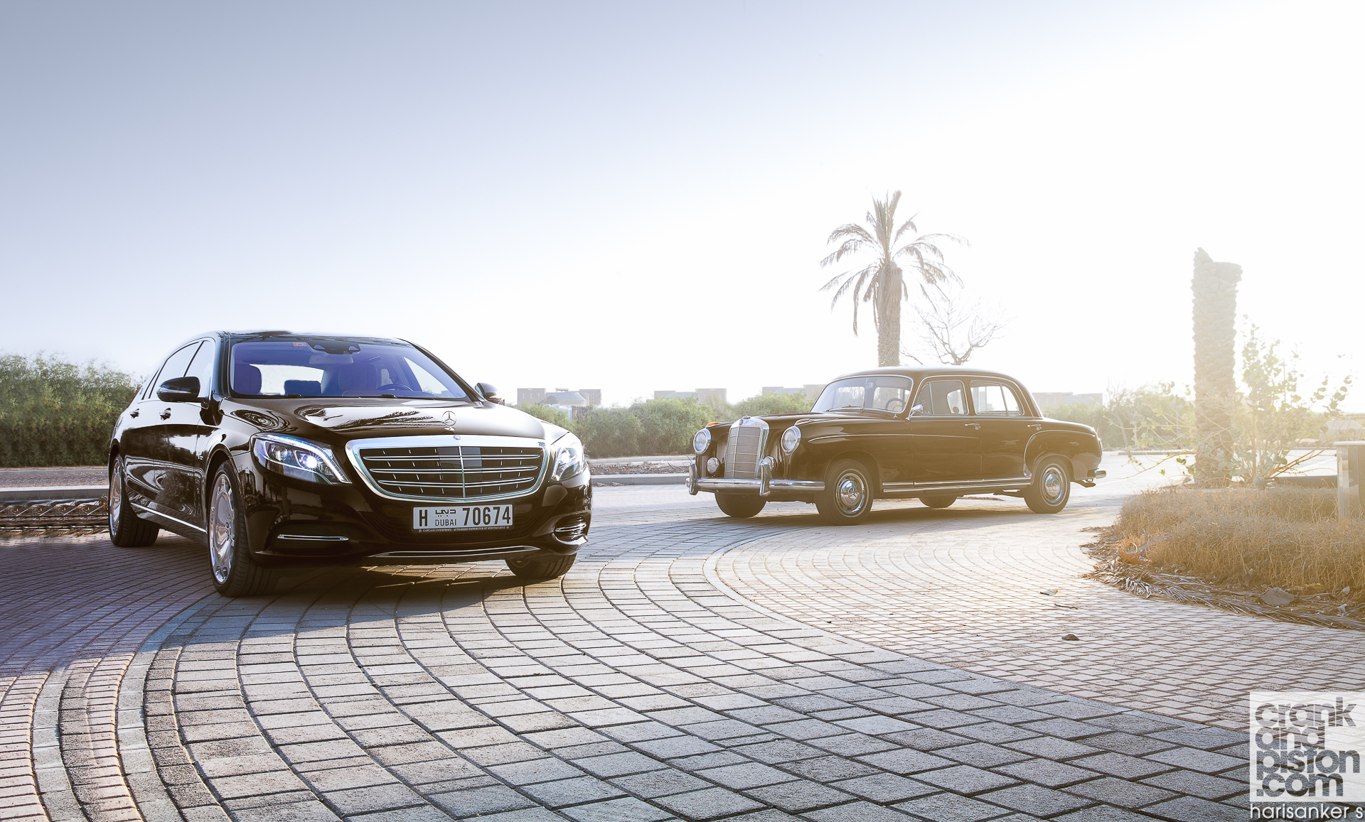 Mercedes-Maybach S600 meets Mercedes W180 220S WALLPAPERS crankandpiston-5