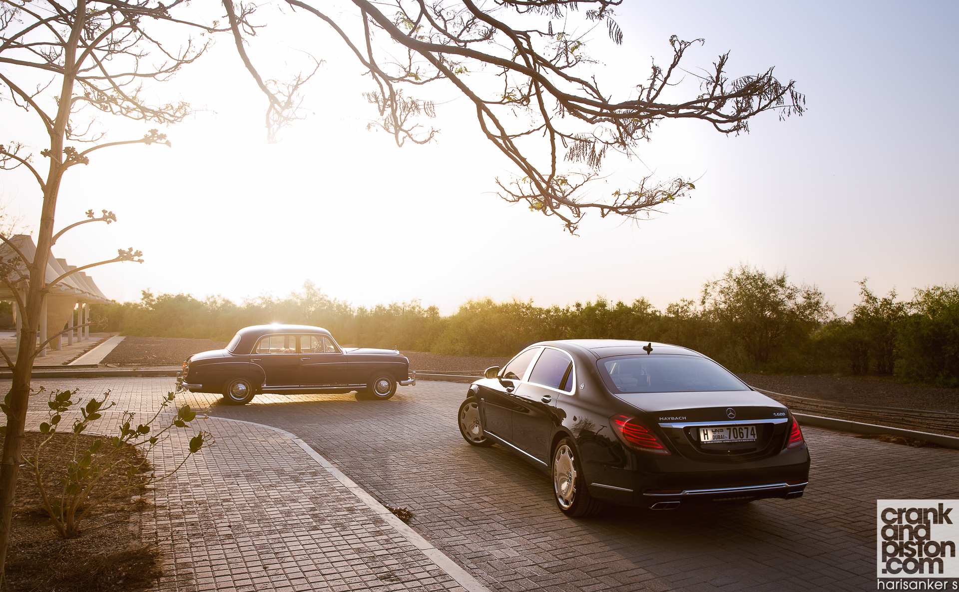 Mercedes-Maybach S600 meets Mercedes W180 220S WALLPAPERS crankandpiston-7