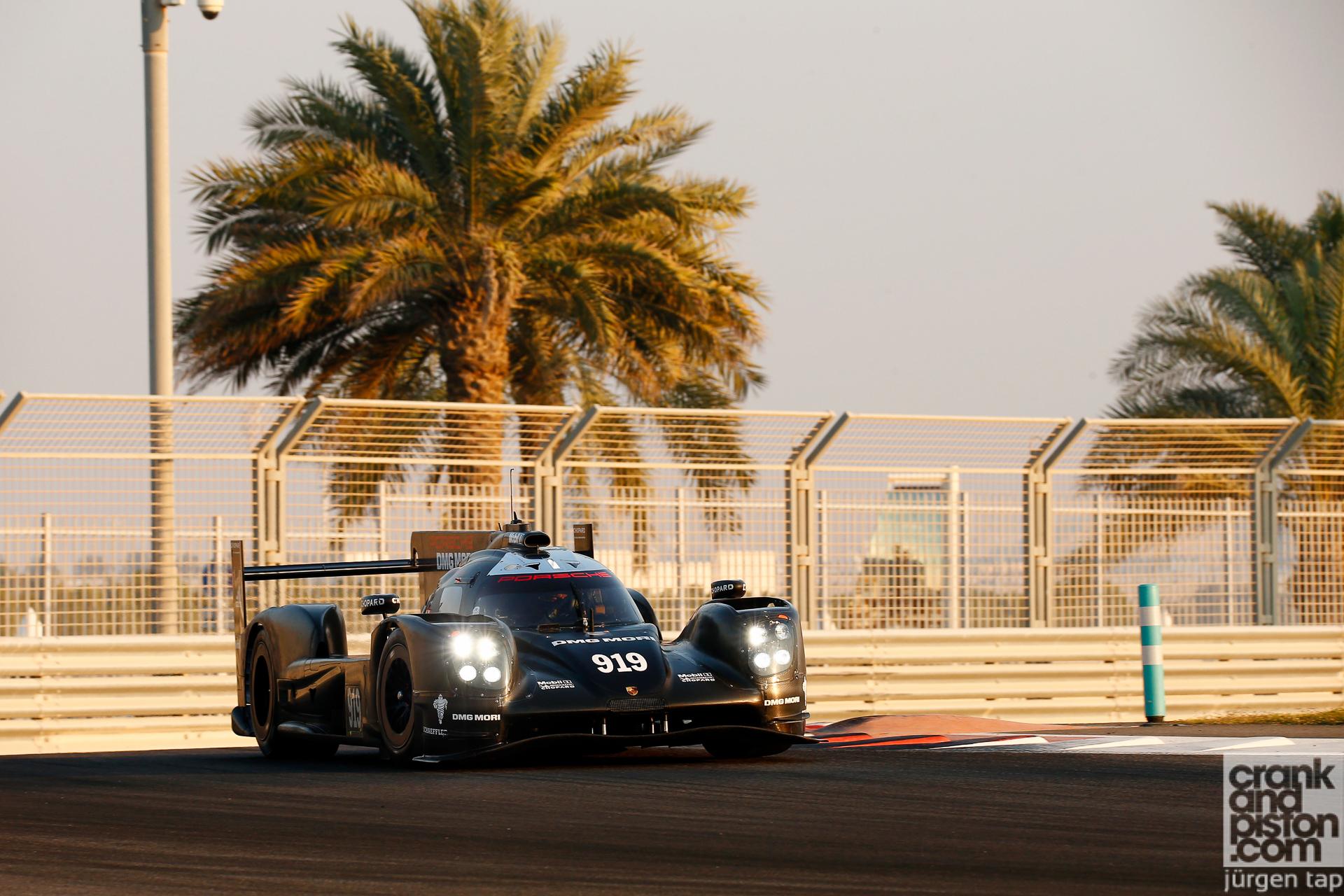 Motorsport Porsche 919 Hybrid Test Abu Dhabi, Yas Marina Circuit