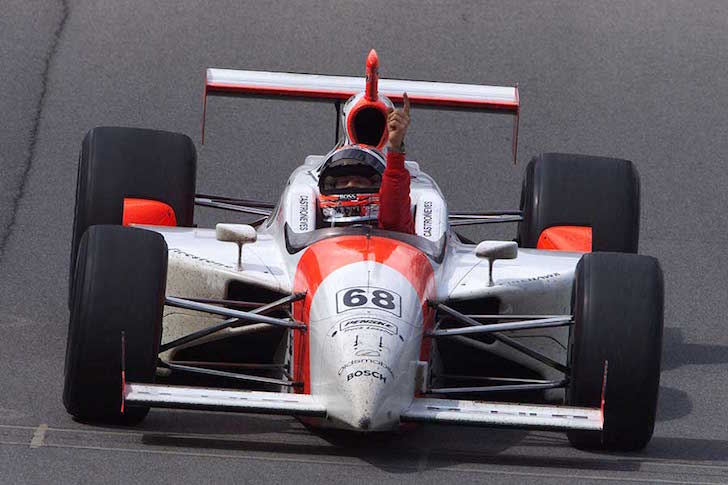 THROWBACK THURSDAY Helio Catroneves Penske Indy 500 02