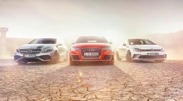 Audi RS3 vs VW Golf GTI Clubsport vs Mercedes-AMG A45 crankandpiston-53