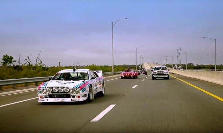 Road to Amelia Lancia rally cars -1