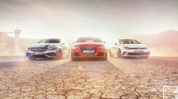 VW GTI vs Audi RS3 vs Mercedes-AMG A45 crankandpiston Wallpapers-4