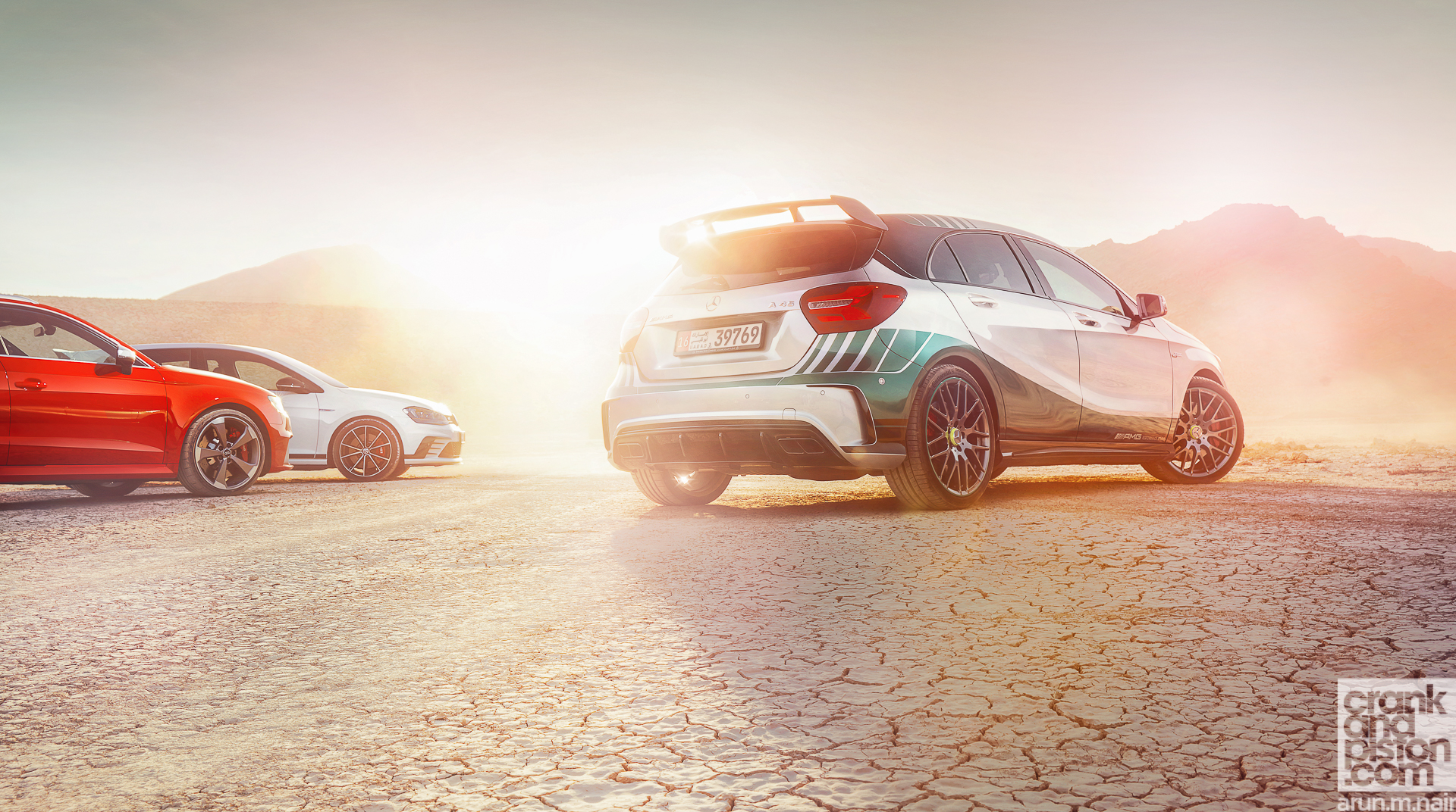 VW GTI vs Audi RS3 vs Mercedes-AMG A45 crankandpiston Wallpapers-5