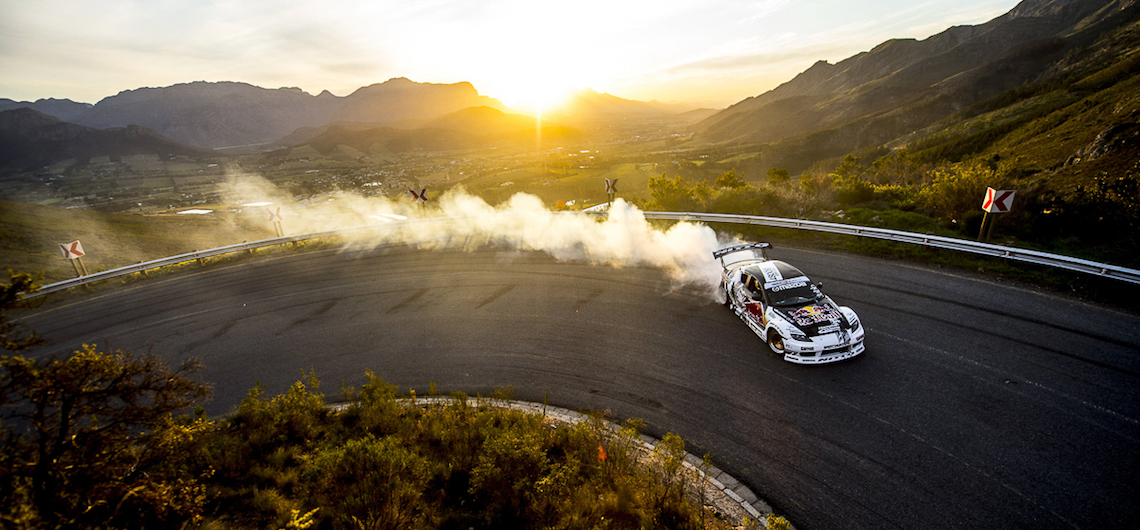 Mike Whiddett performs on Franschhoek Pass, Cape Town, South Africa on September 19, 2016. // Craig Kolesky/Red Bull Content Pool // P-20161003-00474 // Usage for editorial use only // Please go to www.redbullcontentpool.com for further information. //