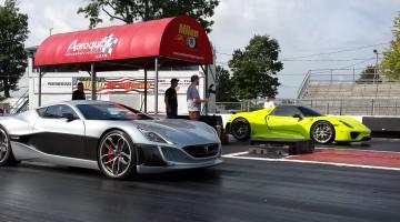 Rimac Concept One vs Porsche 918 Spyder-13