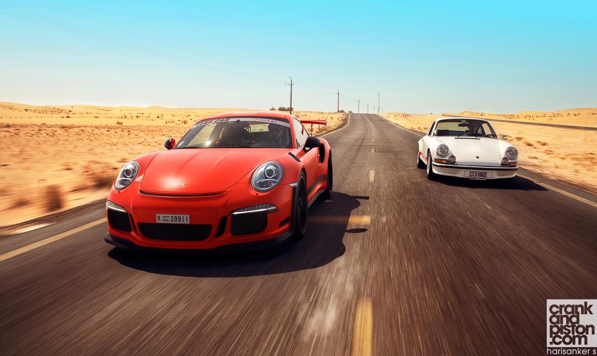 Porsche Carrera RS 2.7 vs Porsche 911 GT3 RS crankandpiston-45