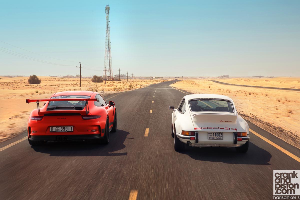 Porsche Carrera RS 2.7 vs Porsche 911 GT3 RS crankandpiston-47