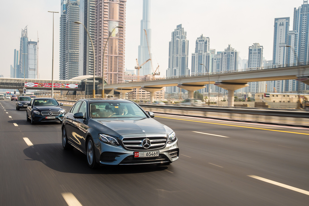 Self-driving Mercedes- E-Class-1