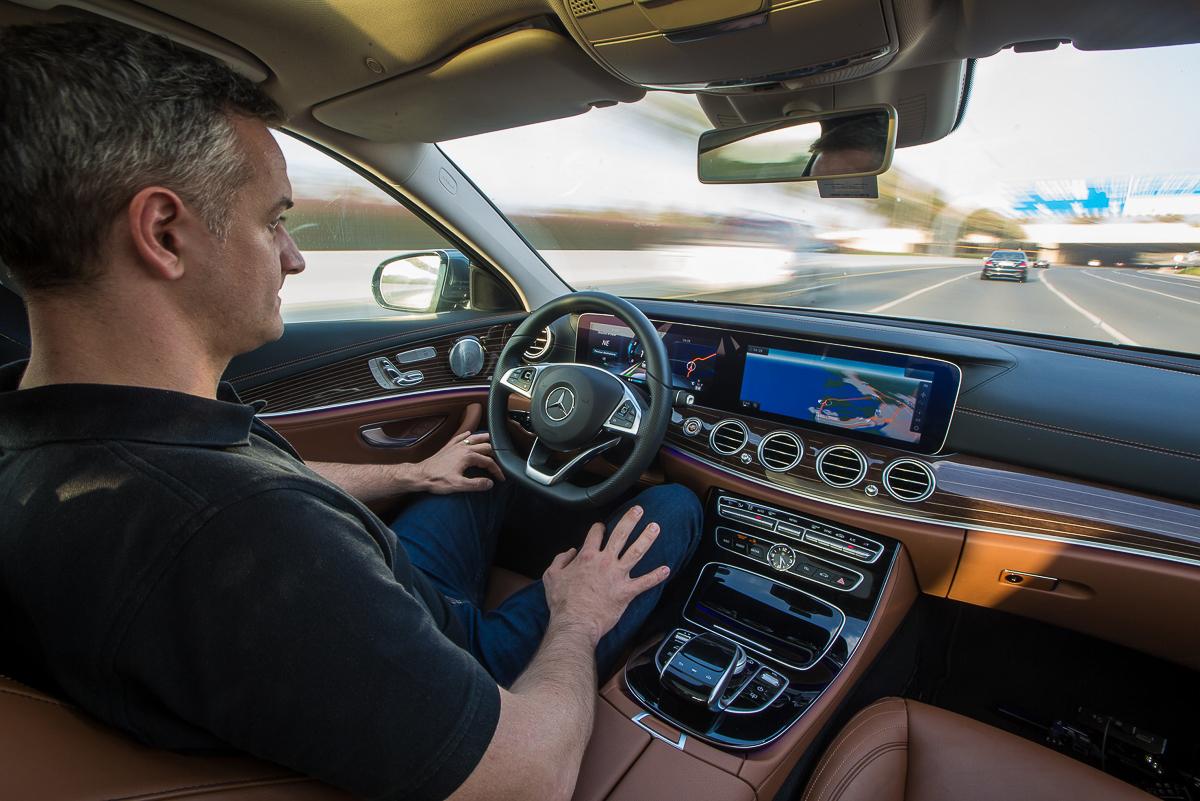 Self-driving Mercedes- E-Class-2