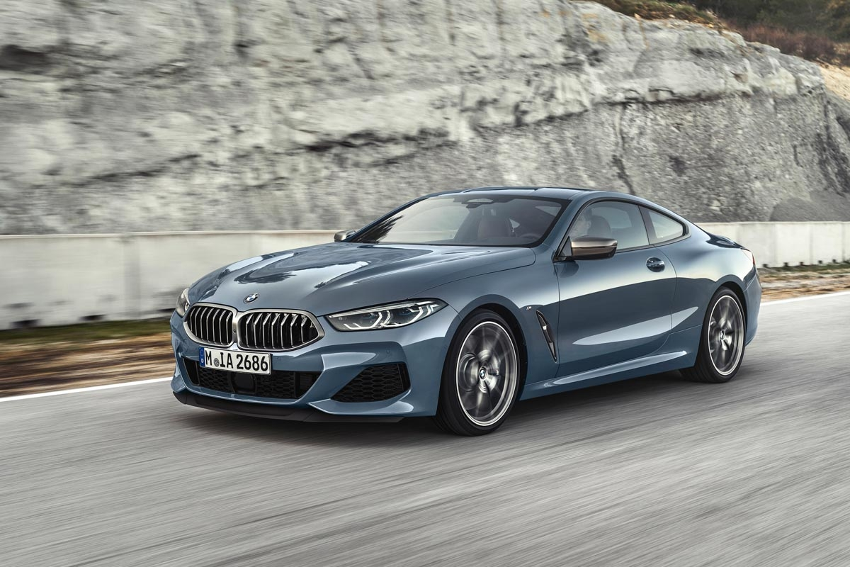 all new 2018 bmw 8 series coupe revealed watch out s. Black Bedroom Furniture Sets. Home Design Ideas