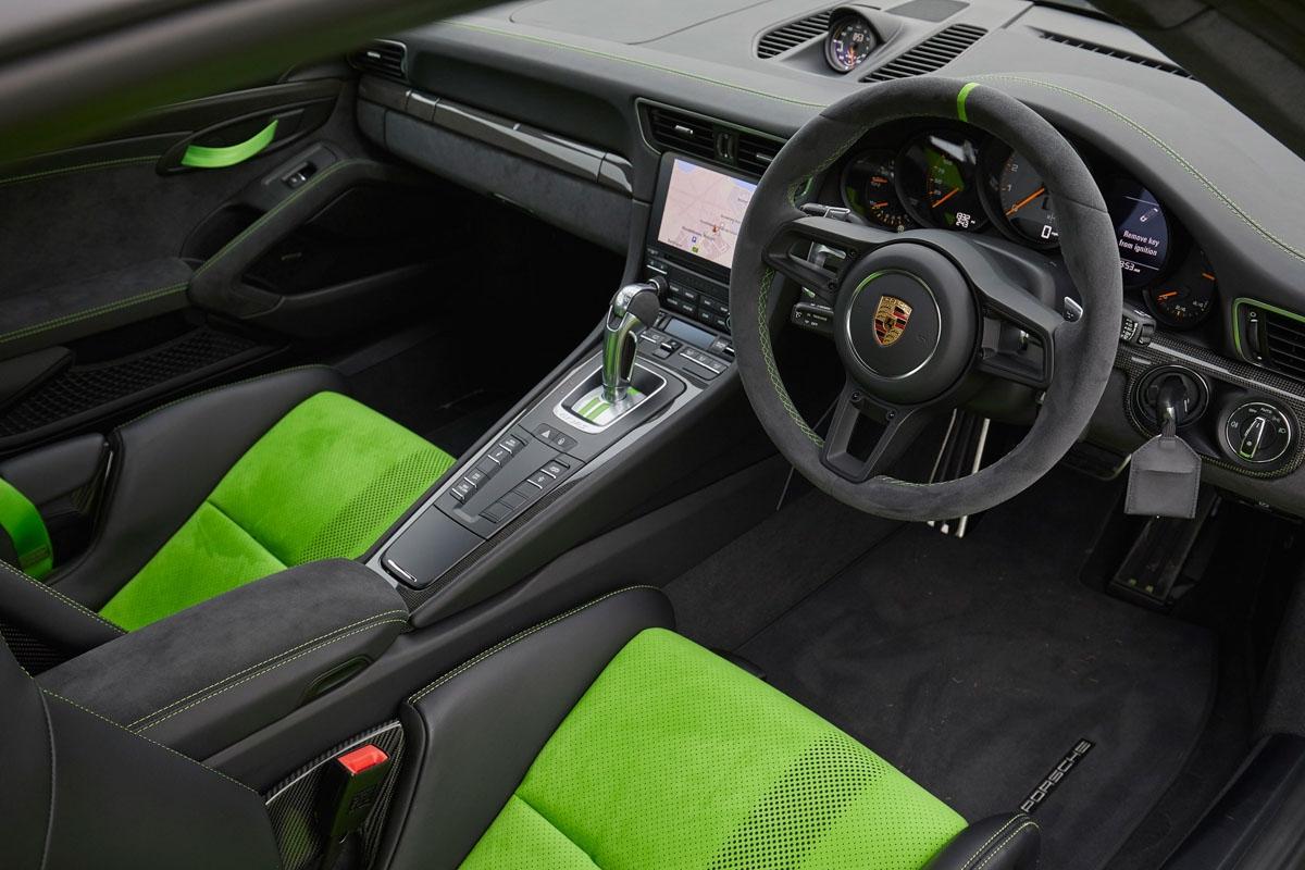 2018 Porsche 911 GT3 RS-4