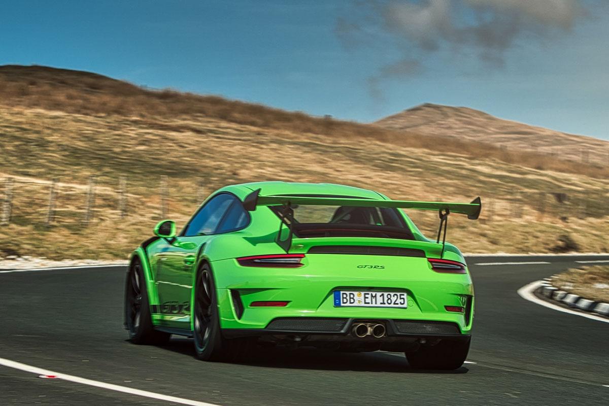 2018 Porsche 911 GT3 RS-5