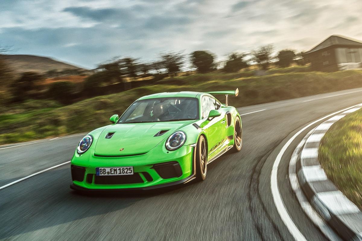 2018 Porsche 911 GT3 RS-7