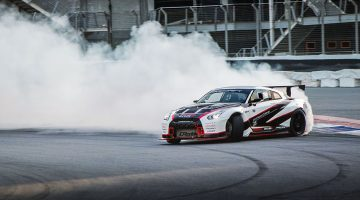 james deane in nissan gtr