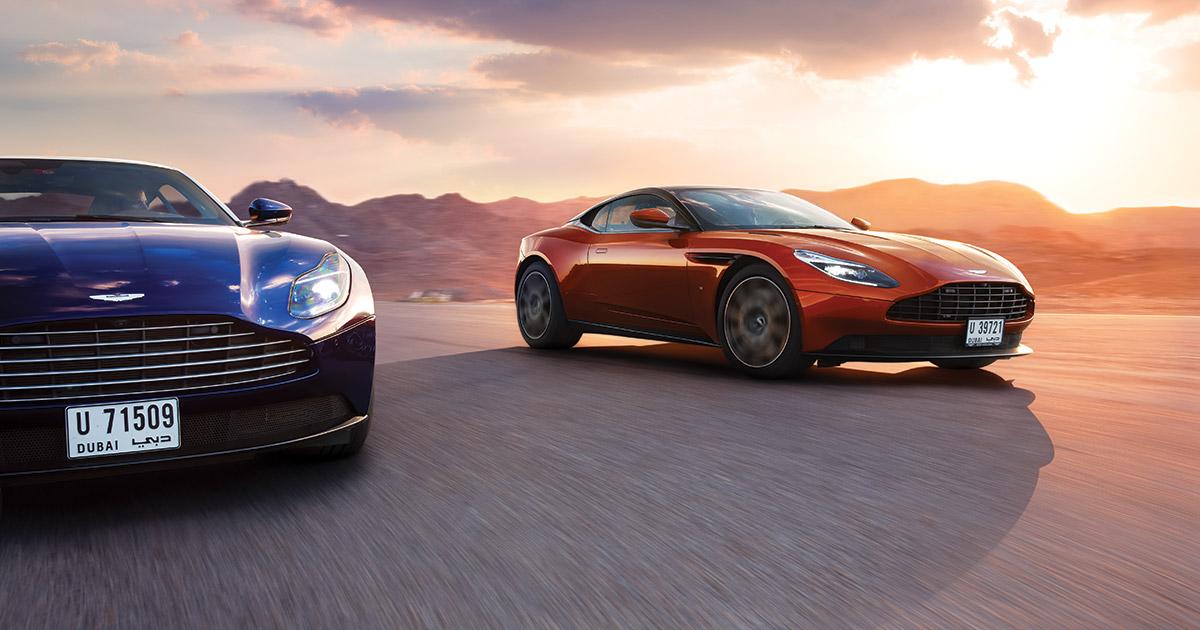 Driven Battle Of The Elevens Aston Martin Db11 V8 Vs V12