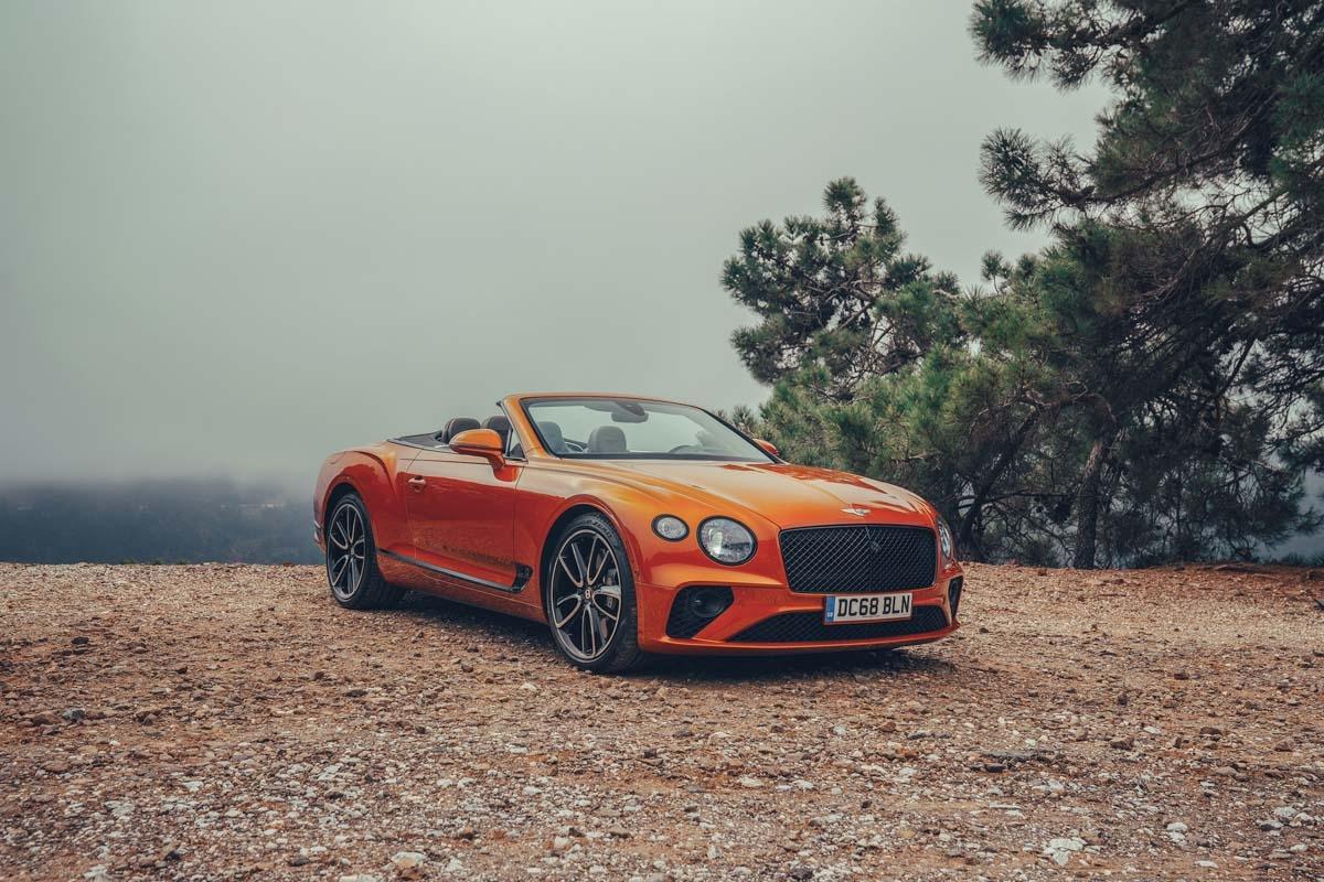 2019 Bentley Continental GT-4