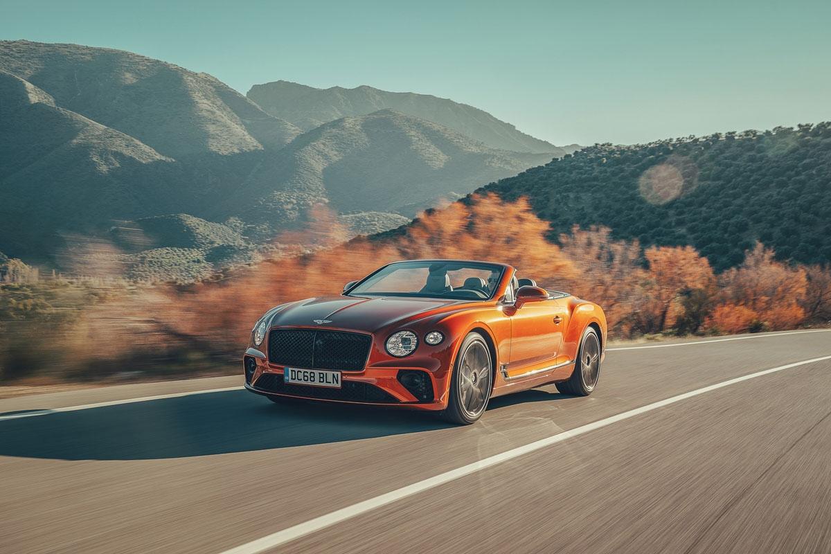 2019 Bentley Continental GT-8