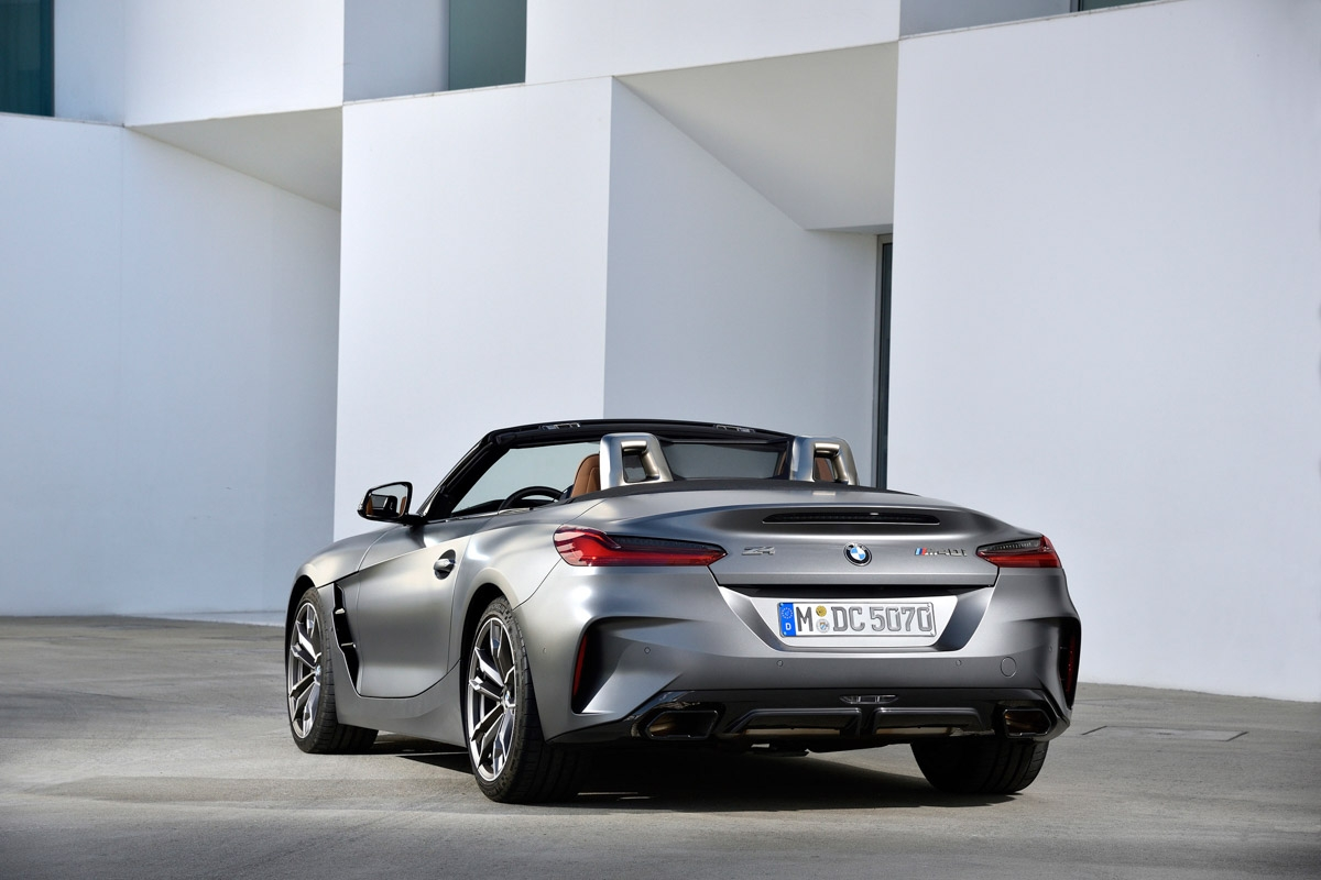 New 2019 BMW Z4 review-20