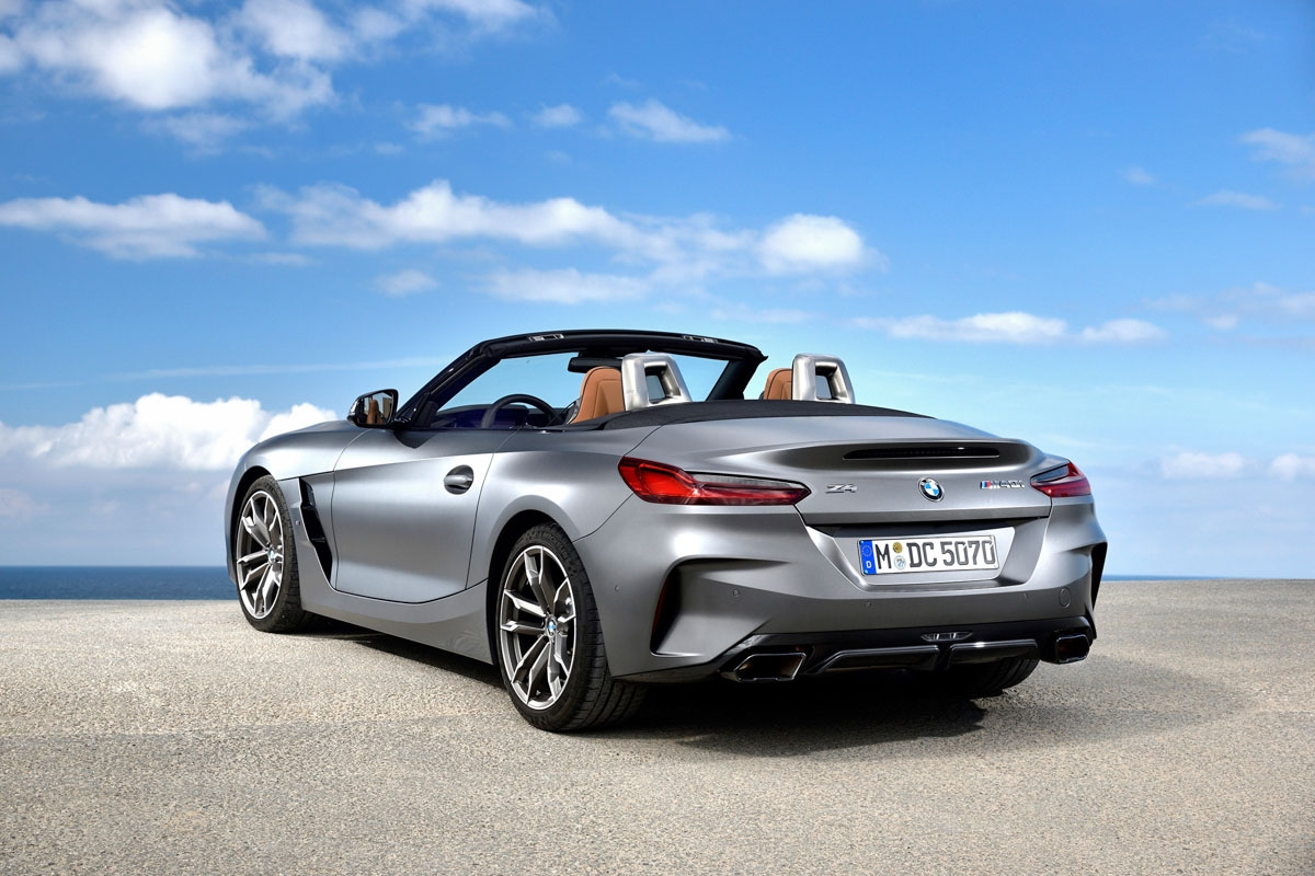 New 2019 BMW Z4 review-24