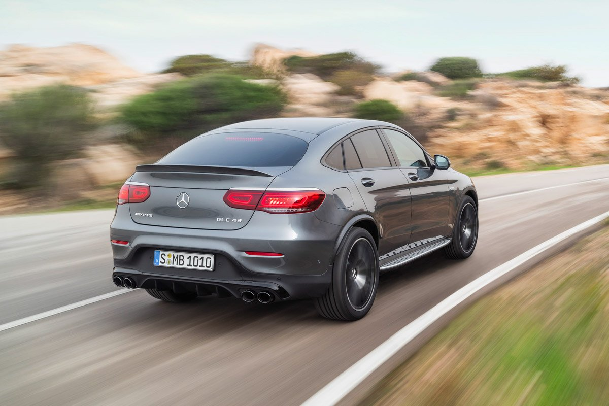 Mercedes-AMG GLC 43 4MATIC Coupé (2019)