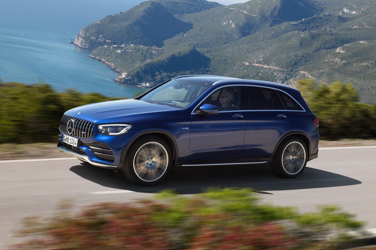 Mercedes-AMG GLC 43 4MATIC SUV (2019)