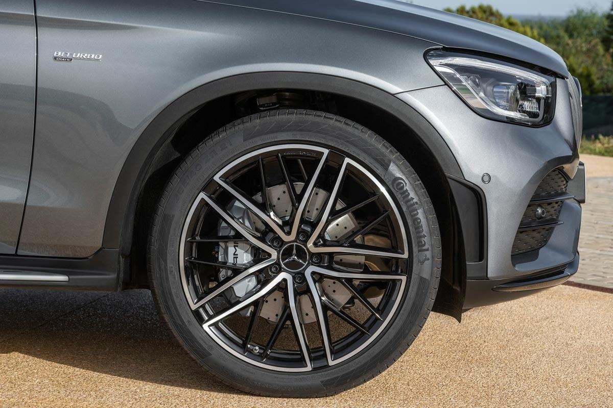 Mercedes-AMG GLC 43 4MATIC Coupé (2019)