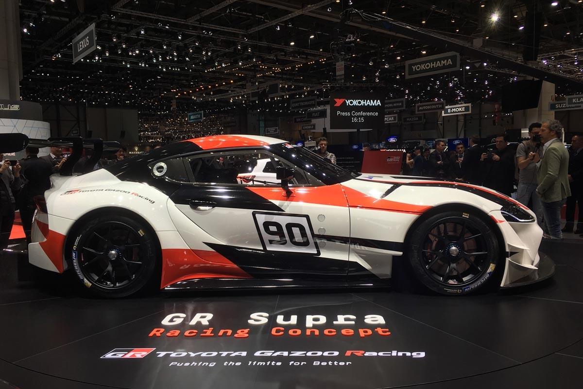 Toyota Supra To Make Dynamic Debut At Goodwood - Goodwood hardware car show