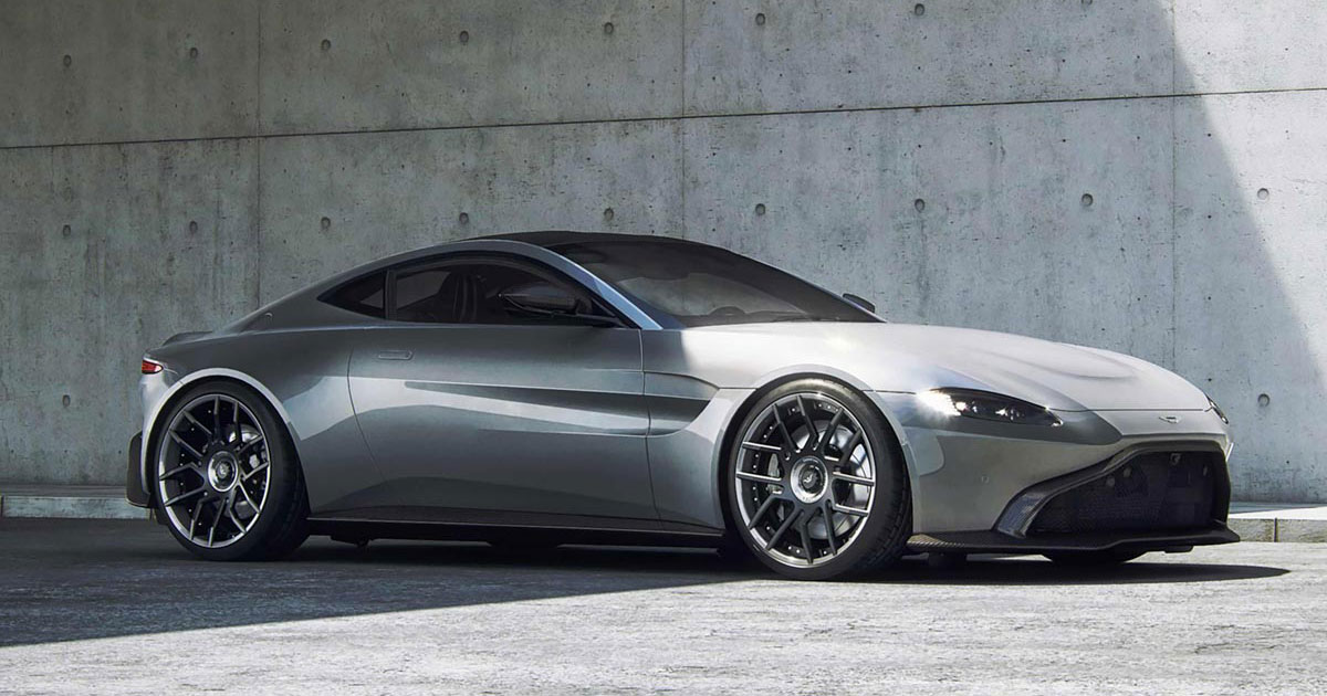 670bhp Aston Martin Vantage Gets Dbs Superleggera Rivalling Performance