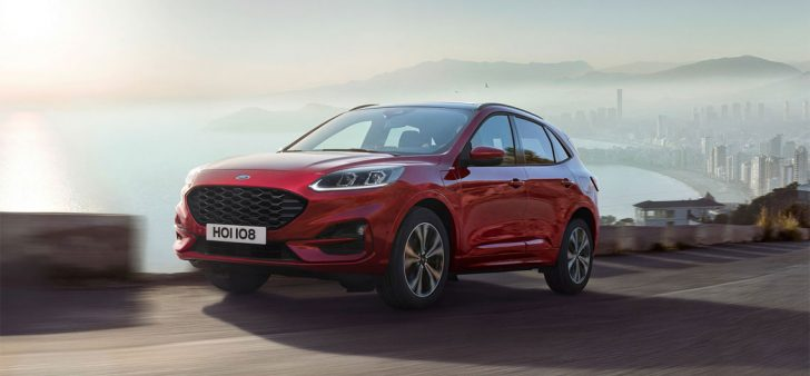 new ford kuga revealed with plug in hybrid and focus st. Black Bedroom Furniture Sets. Home Design Ideas