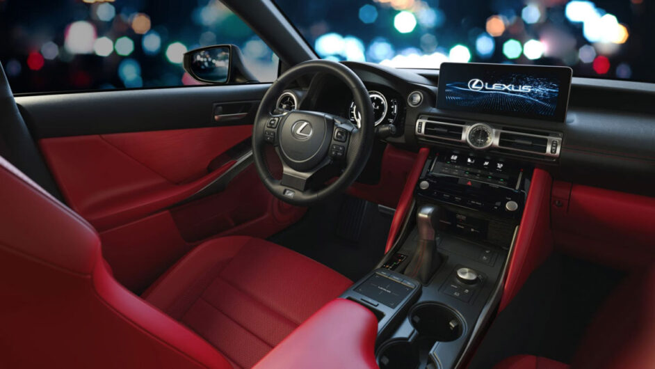 2021 lexus is saloon revealed – aggressive new look for