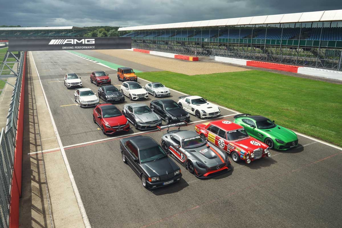 50 years of AMG – history and best cars -2